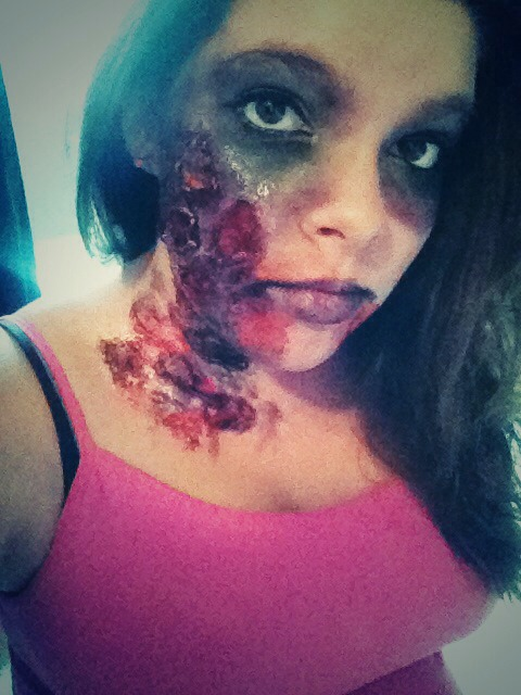 No filters. Just zombies :)