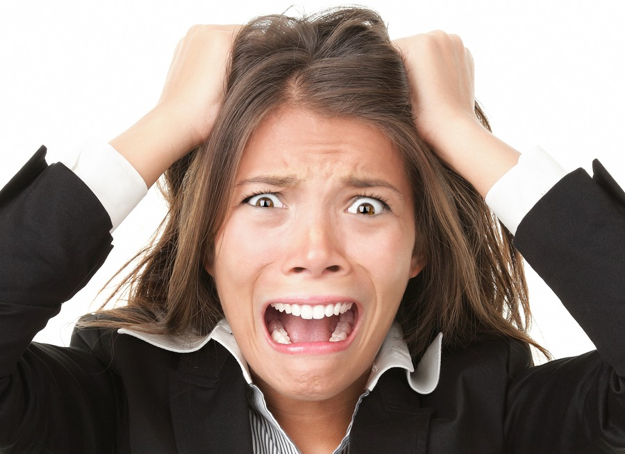 Stress is proven to slow down your hair growth