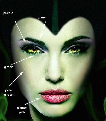 Halloweentip Maleficent Makeup Tutorial By Adeeba H Musely