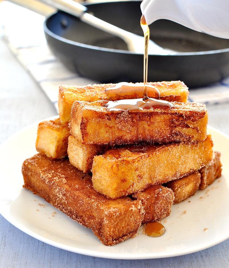 http://www.recipetineats.com/cinnamon-french-toast-sticks/