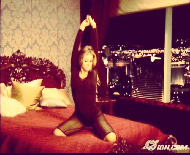 Carmen Electra Strip Tease Workout