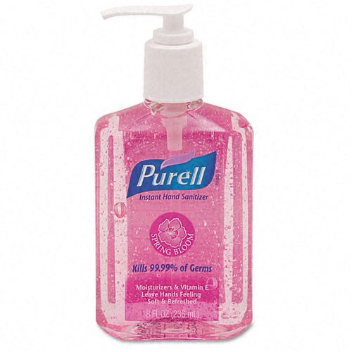 Hand sanitizer is always your best friend when out of the house!