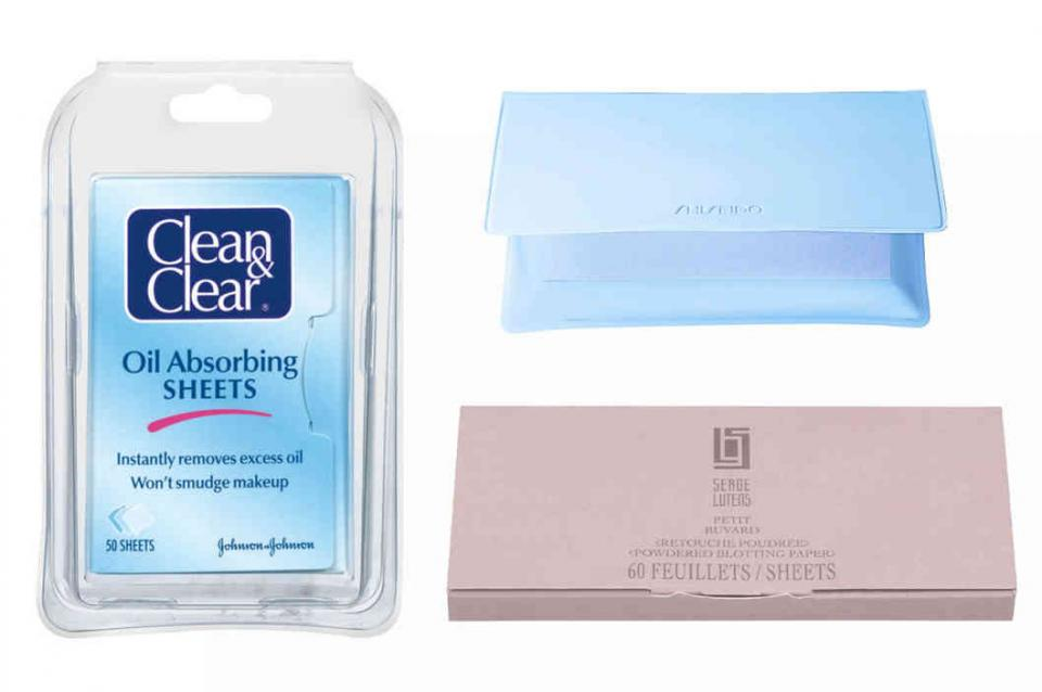 17. Blotting papers  You're bound to get some shine as your night carries on, but sometimes you don't have access to a mirror for even a quick makeup touchup.