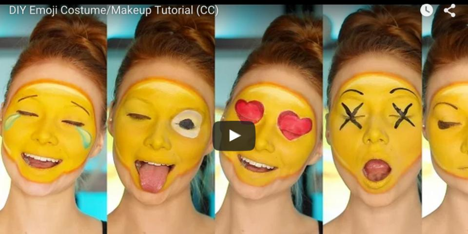 """YouTuber Madeyewlook aka Alexys Fleming aka """"Lex"""" is a 22-year-old licensed esthetician and seriously talented makeup artist. Her newest tutorial is blowing up the internet, with more than 124k views on YouTube so far. It makes sense — who doesn't love emojis?"""