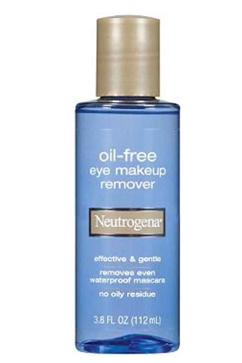 5. Neutrogena Eye Makeup Remover: Three cheers for any product that a) easily removes eye makeup in a single swipe, b) doesn't feel oily and greasy afterward, and c) doesn't eventually dry out your skin. Three options under $8 : liquid, lotion or wipes.