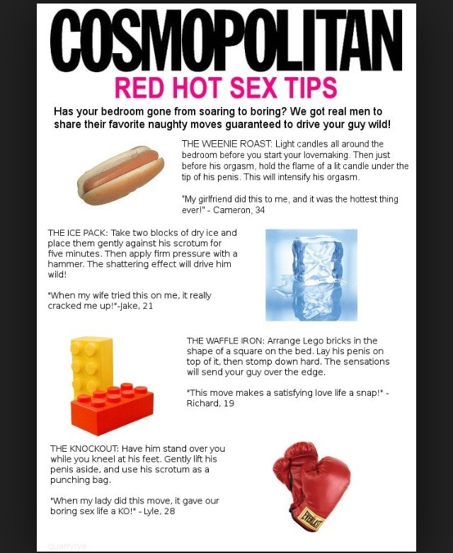 hot sex tips for women