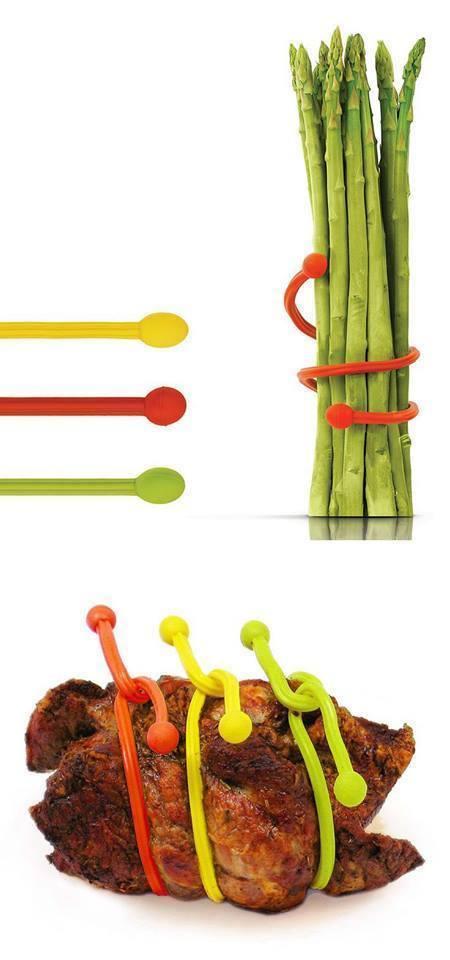 Silicone Food Loop Trussing Tool  http://www.amazon.com/Fusionbrands-15-Inch-Silicone-Food-Trussing/dp/B000P6IOPM/ref=sr_1_1?ie=UTF8&qid=1413470072&sr=8-1&keywords=Fusionbrands+15-Inch+Silicone+Food+Loop+Trussing+Tool%2C+Pink%2C+Set+of+4
