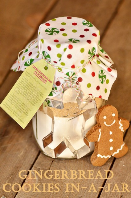 11.	Eliminate the $10 Gift and DIY instead  You know the people on your list that get something generic? Your kids' teachers or the person at work who signs for packages. They don't need your $10 gift, trust me. Instead, make something for them. Check out my gingerbread in a jar tip, it's great gift