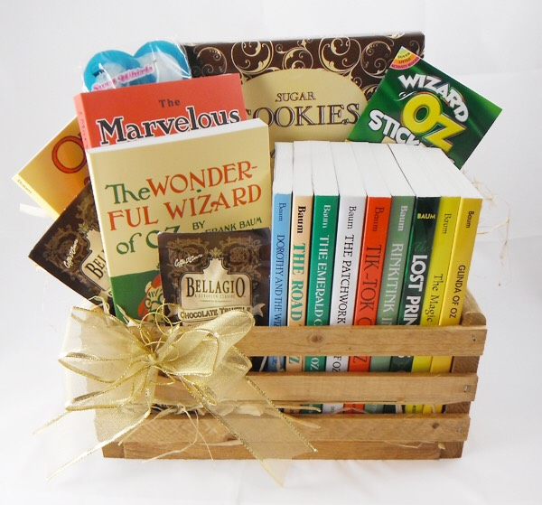 Bookworm gift basket