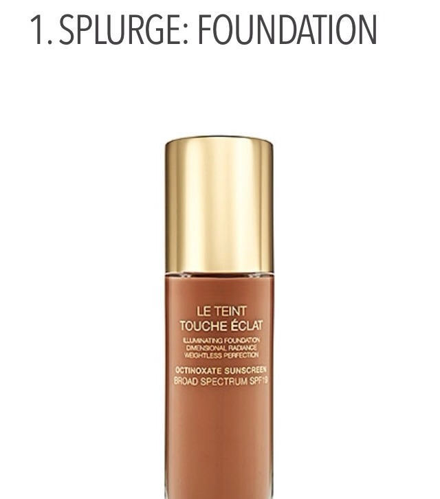 When I think of which beauty products to splurge and to save on, foundation is at the top of the list because the majority of women use foundation on a daily basis. Foundation is literally the base on which your makeup and skin look their best, so quality is important.