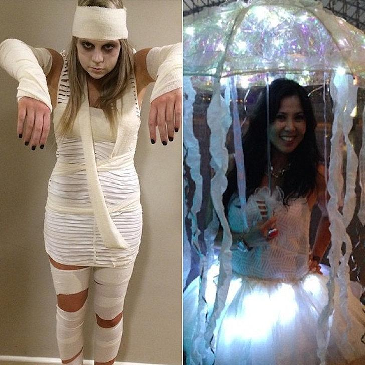 Costumes: Mummy, jellyfish Streamers Crepe Streamers ($1)