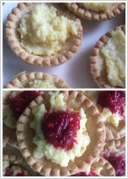 Fill and top your tarts as you like!