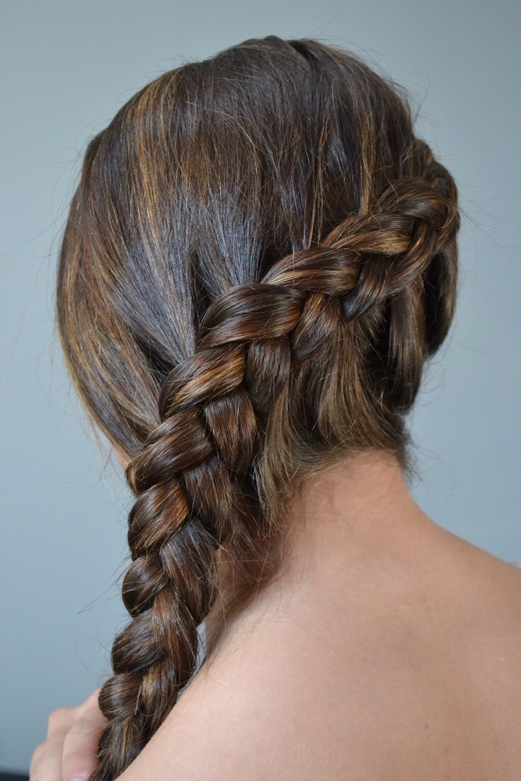 Popular on Pinterest The 4Strand Dutch Braid  Hair How