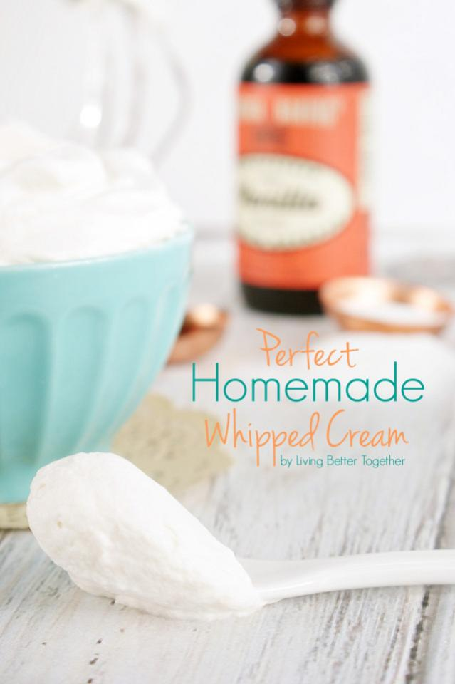 you can find here:  http://www.livingbettertogether.com/2014/11/perfect-homemade-whipped-cream.html