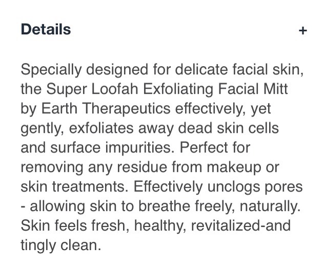 I have attachedthe link on where you can buy it and also the details of the sponge. Please keep in mind that if you have very sensitive and/or suffer from a skin condition always consult with your doctor firstto see if it's okay. Safety firs😉