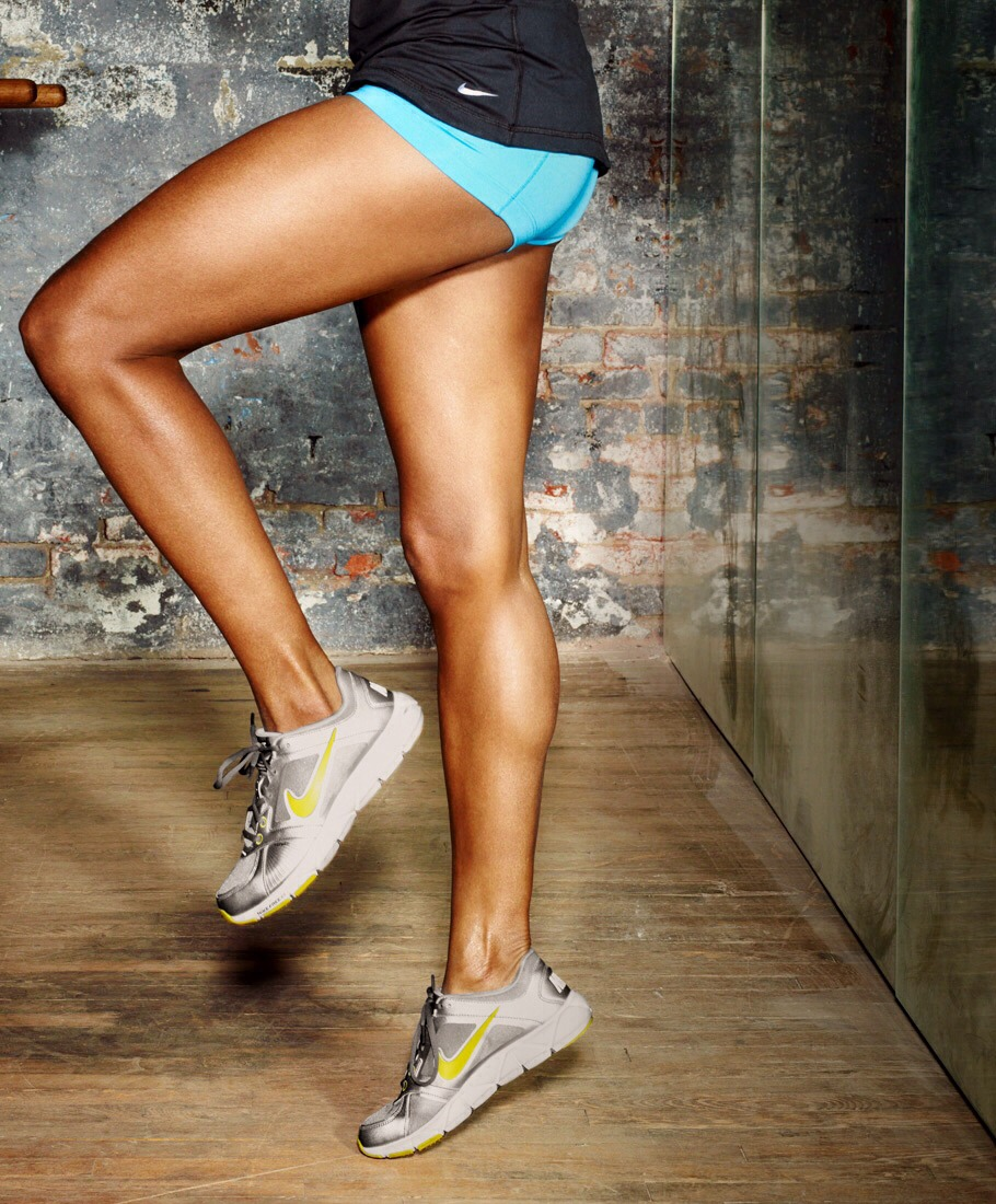 Keep doing multiple reps for the fantastic legs you want. Don't over work your legs. They will need rest.