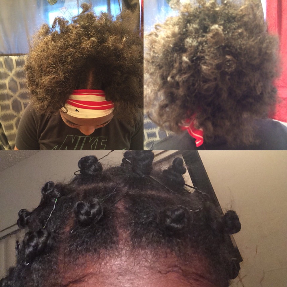 Leave-in conditioner, curl defining pudding and olive oil works like magic ✨