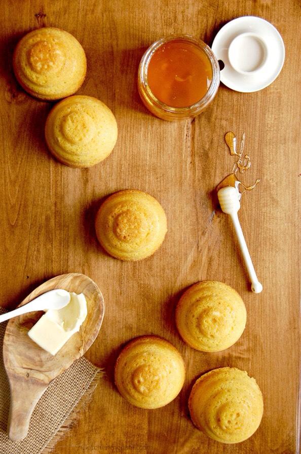 And if you don't have or don't want to use a mold pan, this recipe makes fabulous muffins!