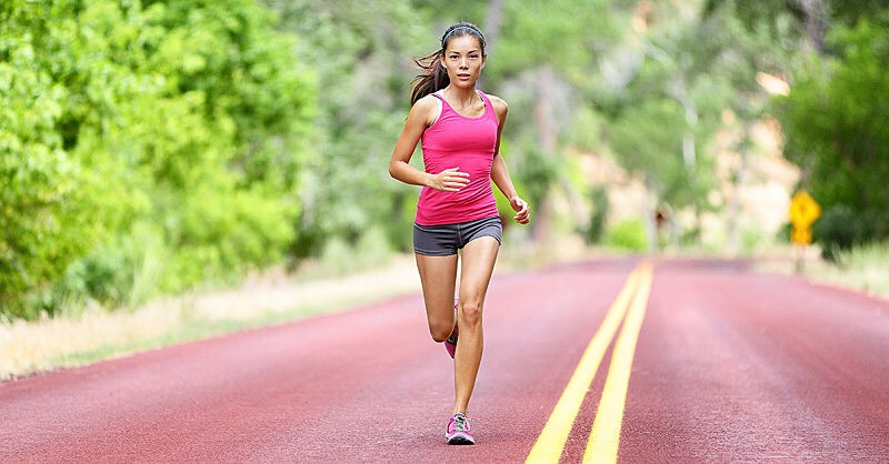 Get proper shoes. Nike shoes and other shoes of that sort are not good for your knees and ankles! They may seem fine but they can lead to problems later on. Look into good running shoes. I prefer ASIC's because they are specifically made for running and there is many different types.