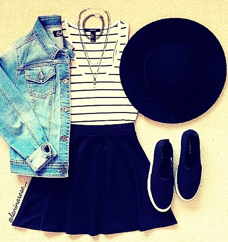 This outfit would be good for a casual day out