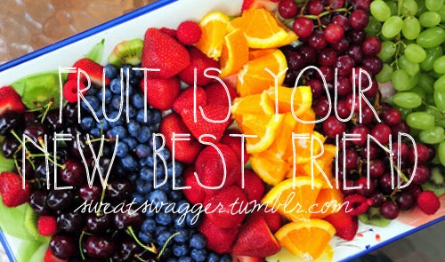 Make yourself a healthy snack to get in a refreshed mood