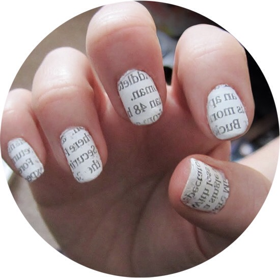 This is a really cute nails design andis surprisingly simple! Go to next page for instructions.
