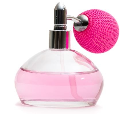 Put perfume on your hairbrush to make your hair smell nice