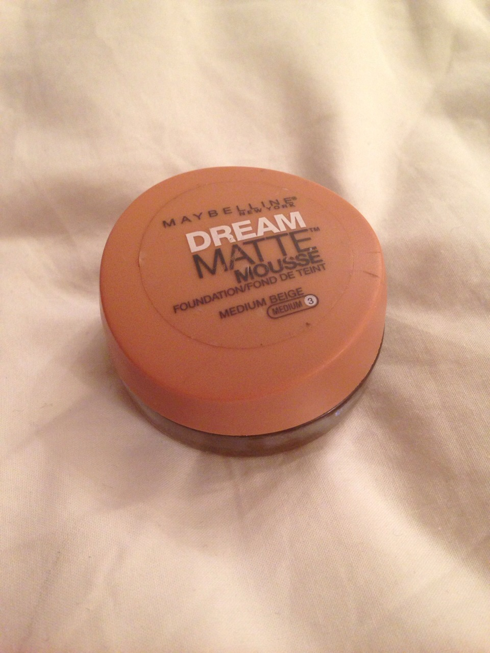1⃣ - FOUNDATION Whether it's a powder or cream it'll do a basic coverage to put your makeup on. :) (Mine is maybelline dream matte mousse)