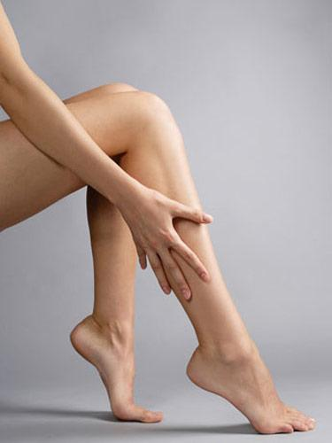 Use hair conditioner to get silky-smooth legs.  It's cheaper, and it'll give you better results.