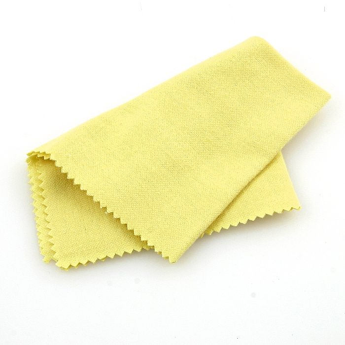 dry in circles with soft cloth