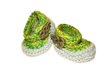 6. And, of course, these Slytherin booties.  $38