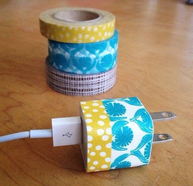 Use duct tape and make designs