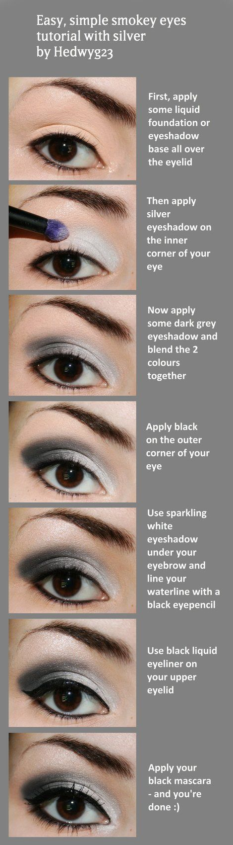 Musely gorgeous silver makeup tutorial baditri Gallery