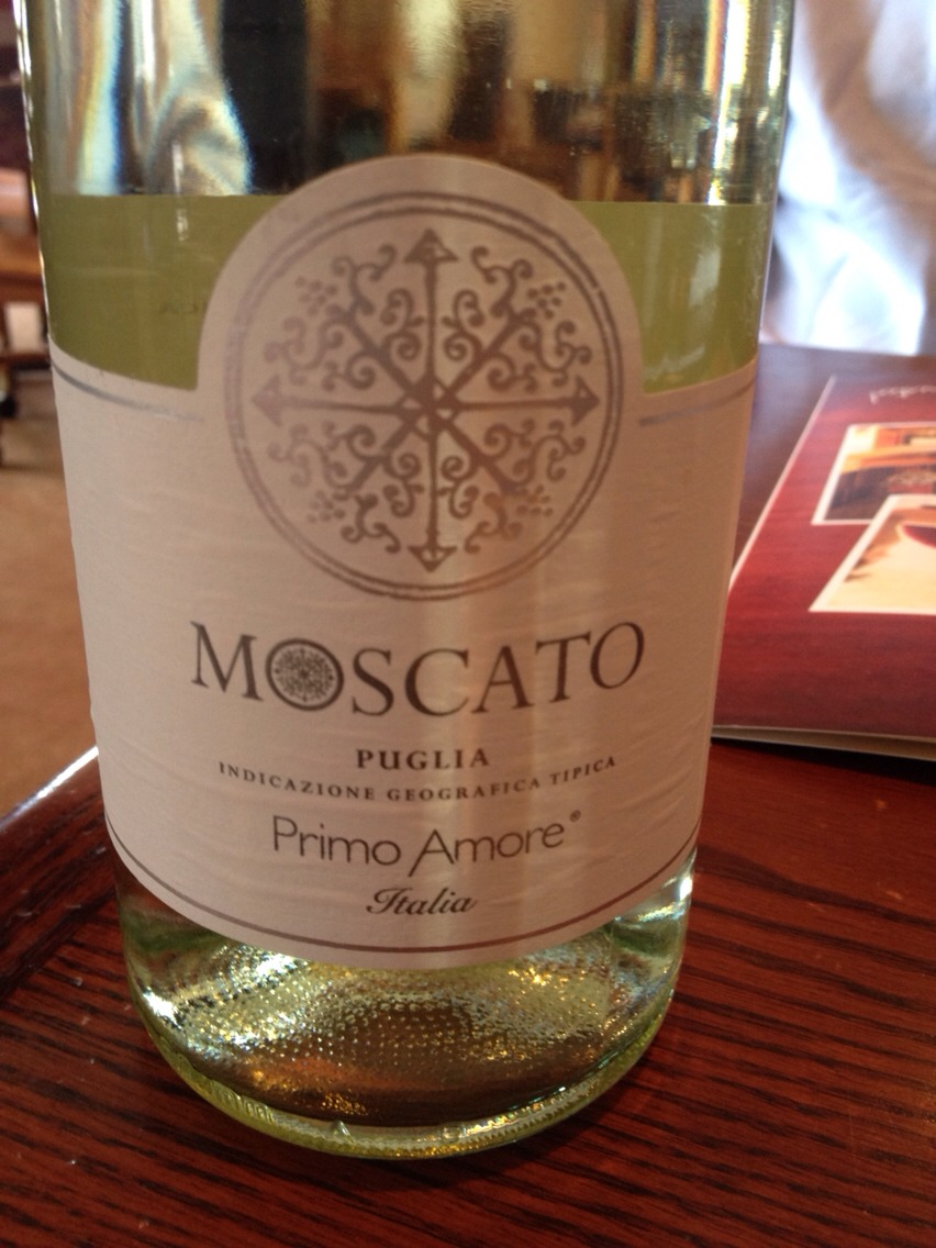 It's a sparkling moscato just like D'Asti but it's called Primo Amore. It's delicious and only $9.99 at BevMo. Highly recommend it!