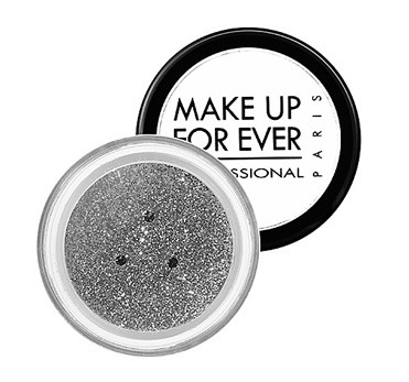 Glitter can make a great statement, but needs to be used subtly. My favorite way to use it is near the inner corners of the eye, such as a beautiful silver glitter over a white eyeshadow. This is a great holiday look, and keeps it classic and simple  Try: Make Up For Ever Glitters in Silver 2, $15