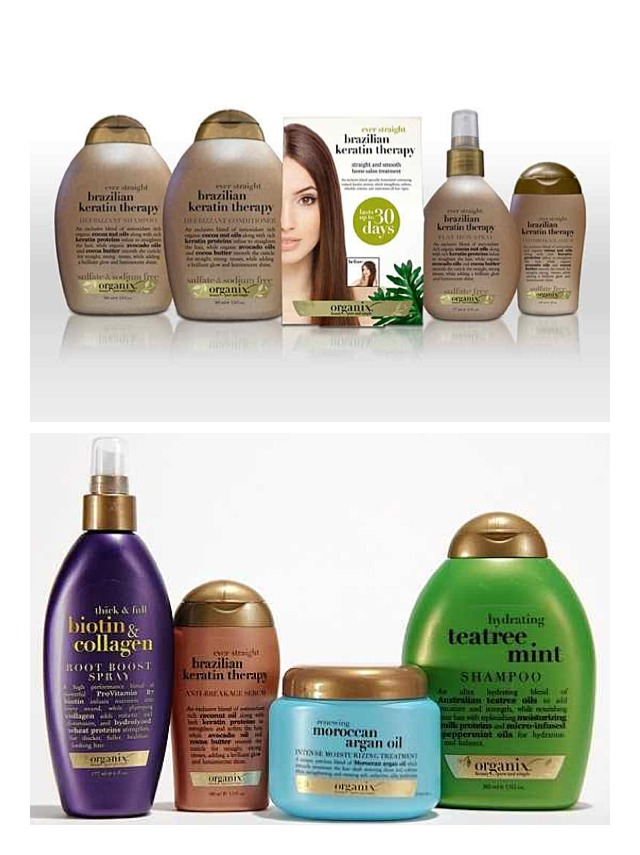 This conditioners and shampoo keep your hair healthy and it makes it grow stronger healthier and faster they work really good in any type of hair.