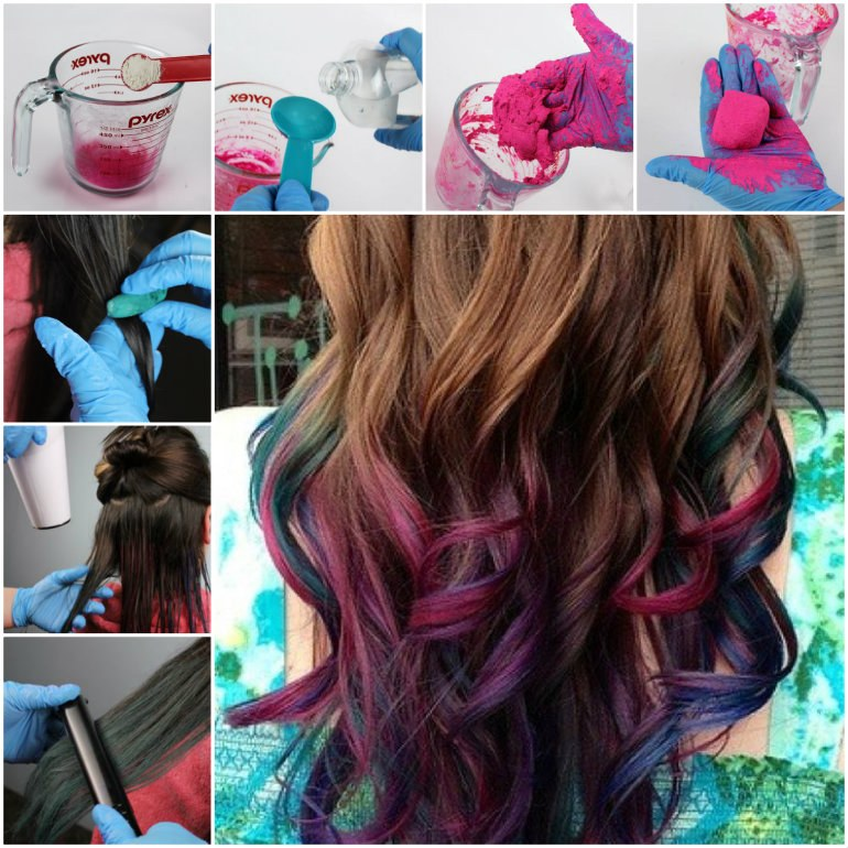 Diy Hair Chalk By Elizabeth Garcia