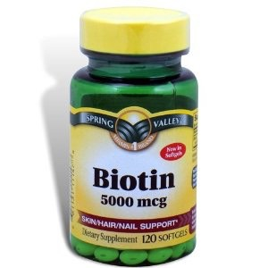 Okay so first up is Biotin 5,000! I take one of these pills daily. It has surprisingly made my hair feel somewhat thicker (I have naturally super thin hair) and shinier.