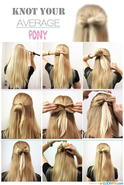 This is a cute bow that is simple to do.