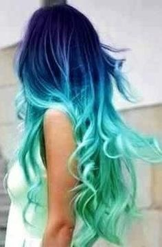 try something new! Dye your hair an exotic color or colors (;