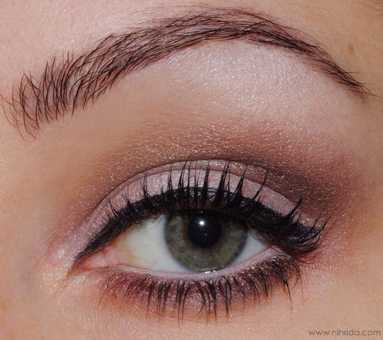 Image result for eyeliner trick: Turn up the heat.
