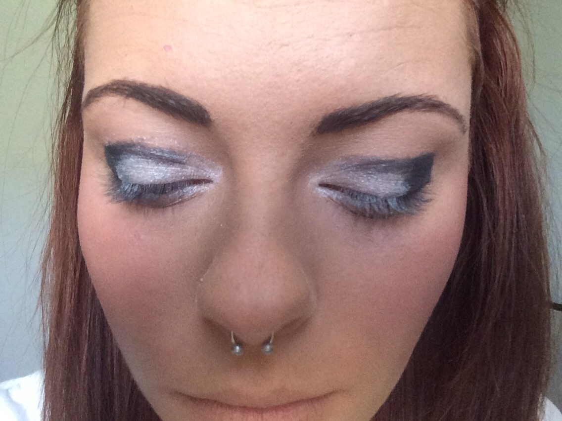 And this is why a blending brush is important
