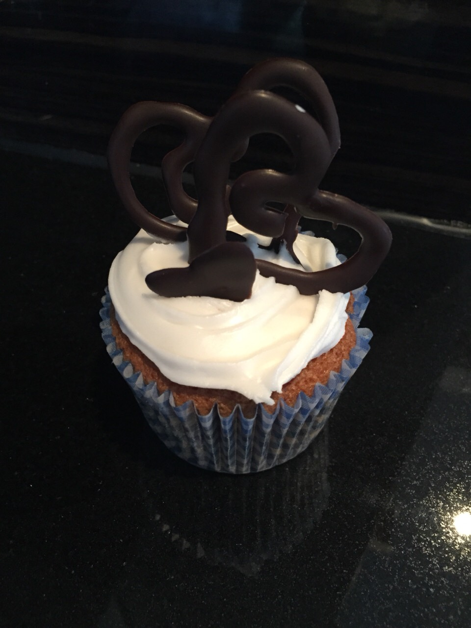 You can decorate your cupcake with anything you want !