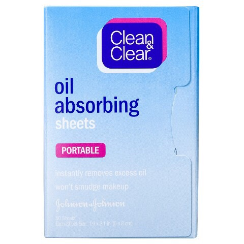 Oil Absorbing Sheets- For when there's sweat or oil on your face, you can just wipe it off. What I like about this one is that when you open & close it, another one for next time just pops out.