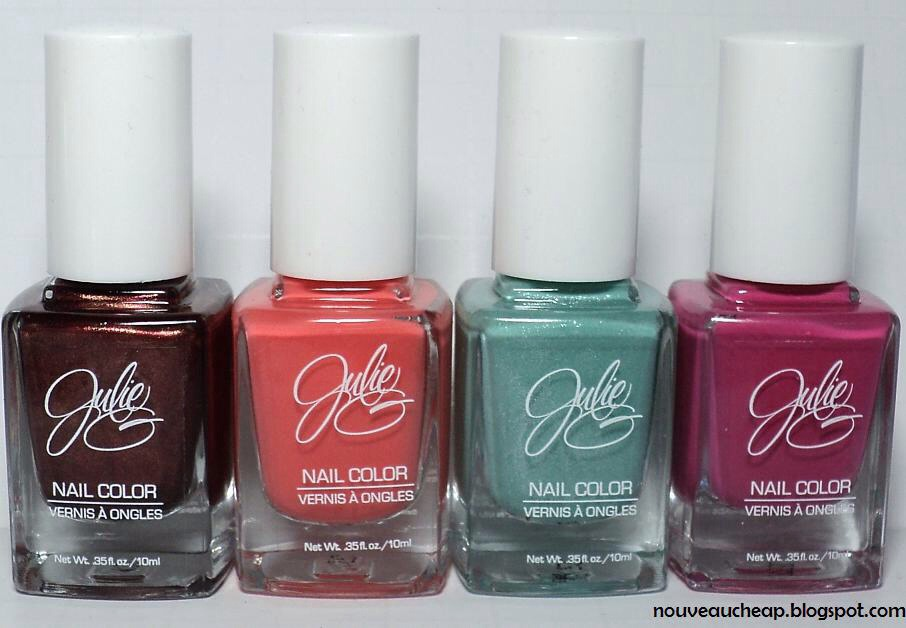 4: Jesse's Girl Julie G. Nail Color | $3.99 Fun nail colors under $5 are great for stocking up; we're partial to the Frosted Gum Drops polishes, which have a fizzy-frosty finish (note: you have to skip base and top coat for the full effect).