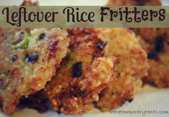 Rice fritters!!!! It is crunchy and delicious
