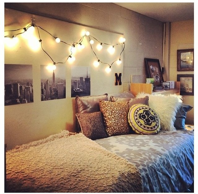 First things first ull want string lights this is the most important thing.(This room is what most my inspiration for my rooms new look)