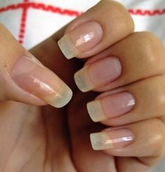 After a couple of weeks, your nails will be as long as these !! ( or even longer , it depends  On how short your nail are at the beginning.)