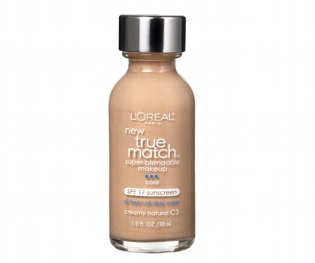L'Oréal True Match Foundation-Has an amazing variety of skin tones and great coverage!