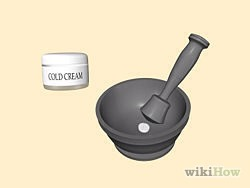 Create a face mask using a solution of one finely crushed aspirin tablet per tablespoon of cold cream. Spread over your face, wait 3-5 minutes, then rinse thoroughly